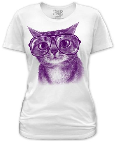 Juniors: Witty Kitty Juniors (Slim) T-Shirt