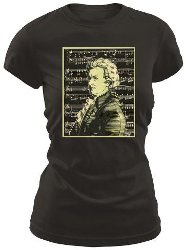 Juniors: Wolfgang Amadeus Mozart T-Shirt