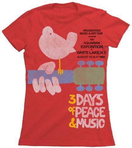 Juniors: Woodstock - Upstate 69 T-Shirt