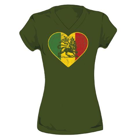Juniors: Ziggy Marley - Lion Heart T-Shirt