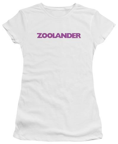 Juniors: Zoolander - Logo Womens T-Shirts