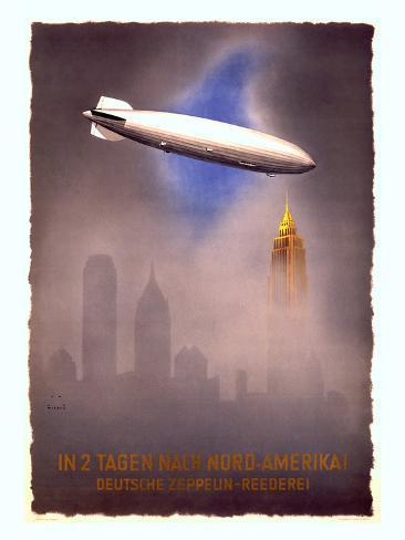 Deutsche Zeppelin-Reederei, c.1936 Giclee Print