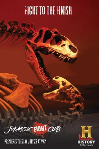 Jurassic Fight Club Stampa master