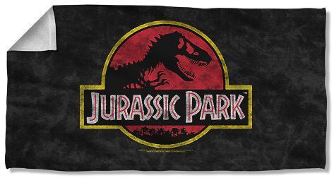 Jurassic Park - Classic Logo Beach Towel Beach Towel
