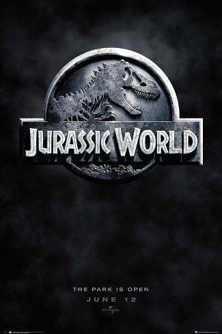 Jurassic World Logo Teaser Poster