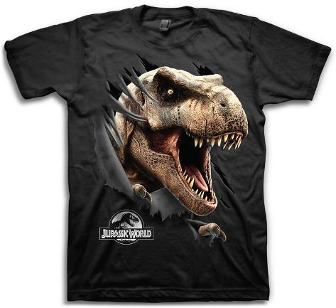 Jurassic World Tear Through T-Shirt