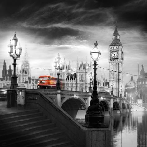 London Bus III Art Print
