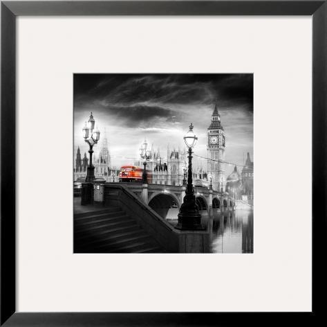 London Bus III Framed Art Print