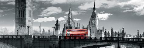 London Bus VI Giclee Print