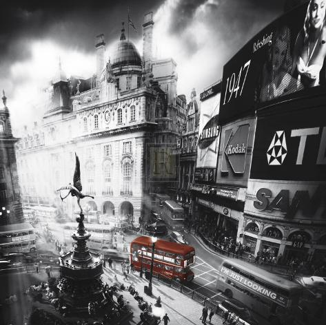 Piccadilly Art Print