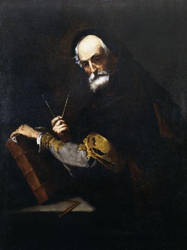 A Philosopher Lámina giclée