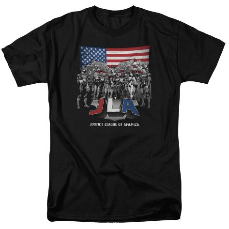 Justice League - All American League T-Shirt