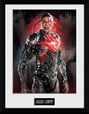 Justice League - Cyborg Solo Collector Print