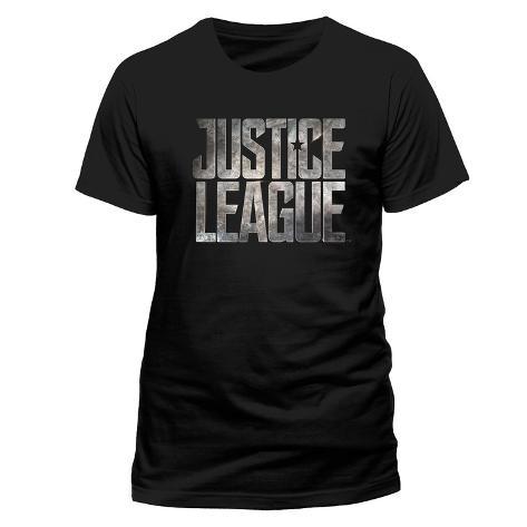 Justice League, film: logo T-shirt