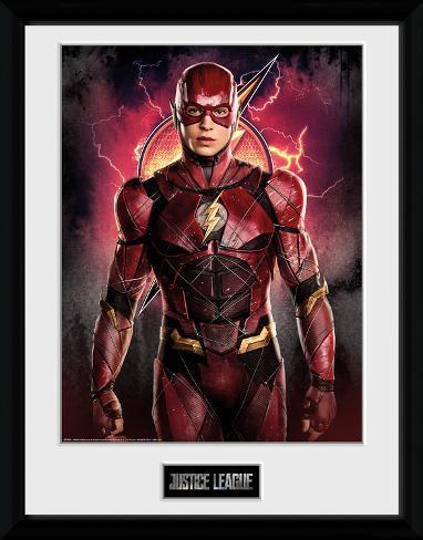 Justice League - Flash Solo Collector Print