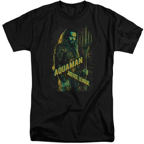 Justice League Movie - Aquaman (Big & Tall) T-Shirt