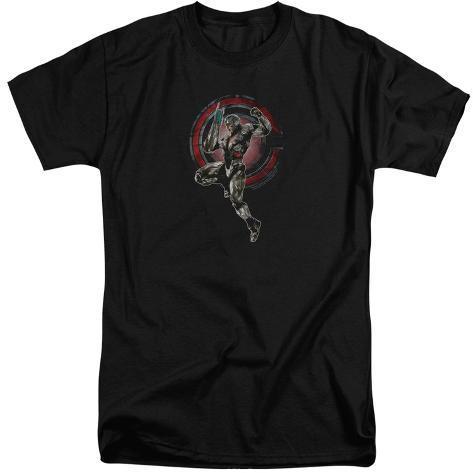 Justice League Movie - Cyborg (Big & Tall) T-Shirt