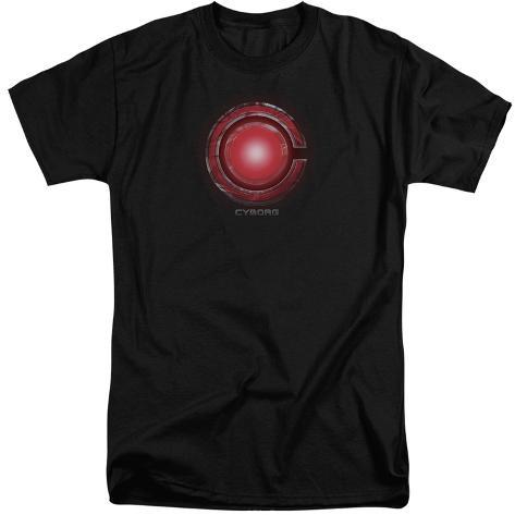 Justice League Movie - Cyborg Logo (Big & Tall) T-Shirt