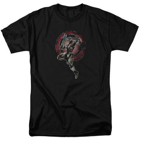 Justice League Movie - Cyborg T-Shirt