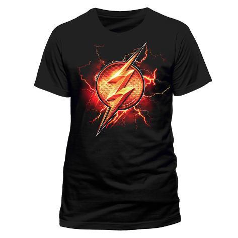 Justice League Movie - Flash Symbol T-Shirt