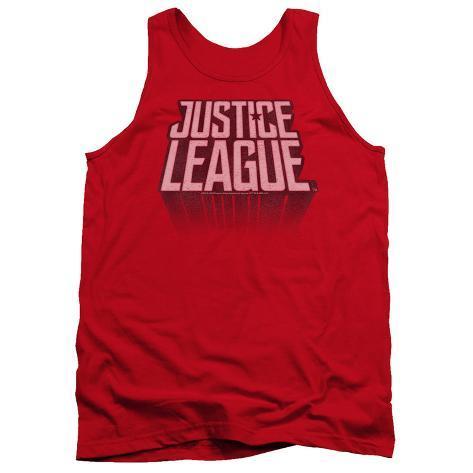 Justice League Movie - League Distressed Tank Top Tank Top