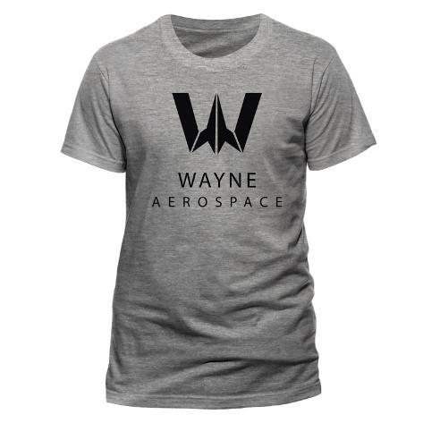 Justice League Movie - Wayne Aerospace T-Shirt