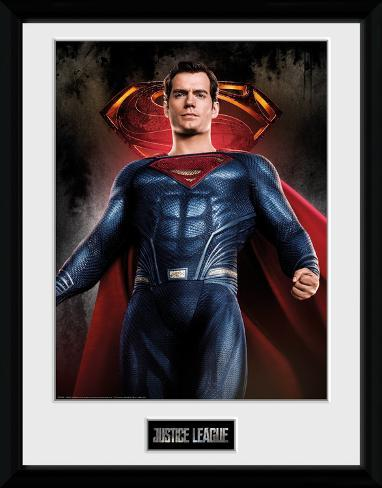 Justice League - Superman Solo Collector Print