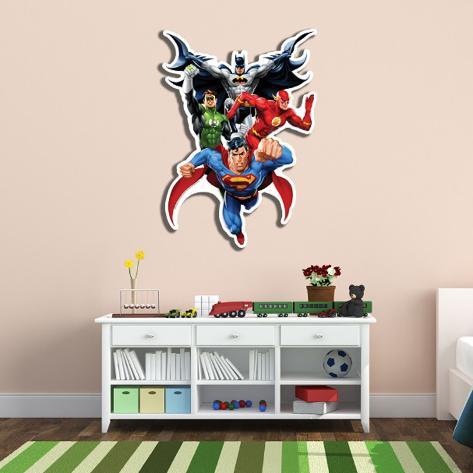 Justice League Wall Art Cardboard Cutouts - AllPosters.co.uk