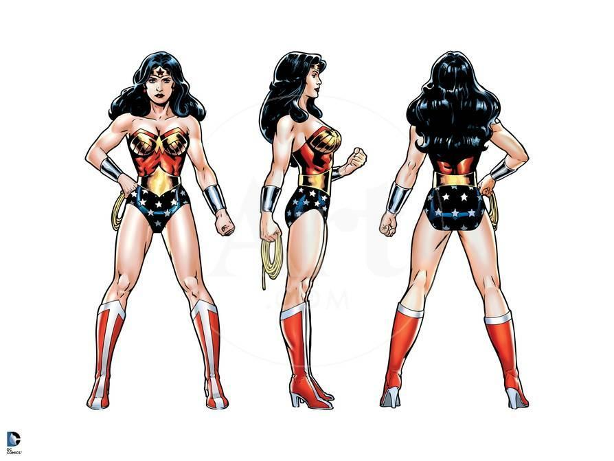 b9ab441f81e Justice League  Wonder Woman  Front