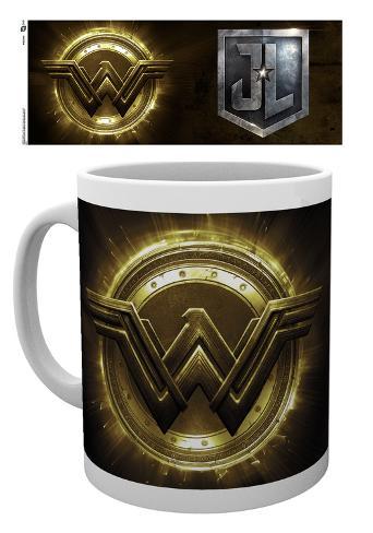 Justice League - Wonder Woman Logo Mug