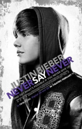 Justin Bieber: Never Say Never Movie Poster Poster originale