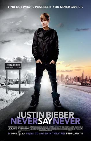 Justin Bieber: Never Say Never Stampa master