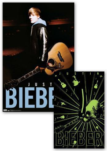 Justin Bieber - Notes - Glow Poster Poster