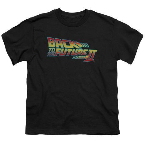 Juvenile: Back to the Future - BTTF 2 Logo Kids T-Shirt