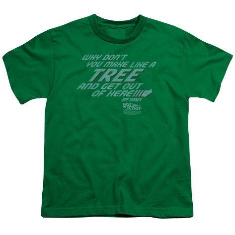 Juvenile: Back to the Future - Make Like a Tree Kids T-Shirt