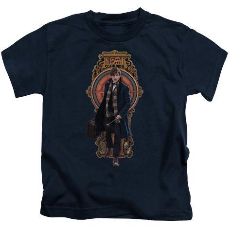 Juvenile: Fantastic Beasts- Newt Scamander Badge Kids T-Shirt