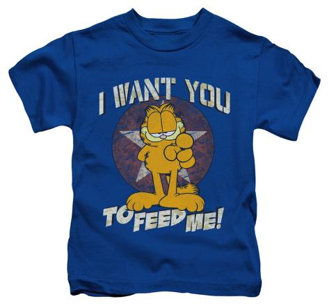 Juvenile: Garfield - I Want You Kids T-Shirt