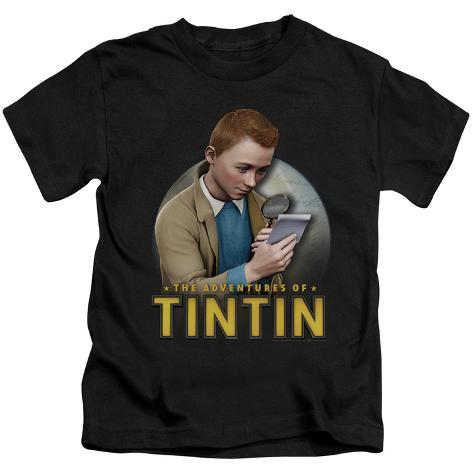 Juvenile: The Adventures of Tintin - Looking For Answers Kids T-Shirt
