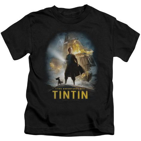 Juvenile: The Adventures of Tintin - Poster Kids T-Shirt