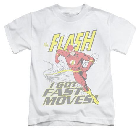 Juvenile: The Flash - Fast Moves Kids T-Shirt
