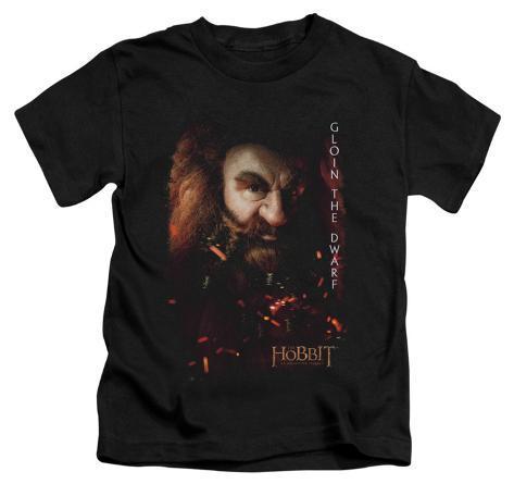 Juvenile: The Hobbit: An Unexpected Journey - Gloin Poster Kids T-Shirt