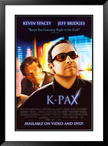 K-PAX: O Caminho da Luz Pôster emoldurado