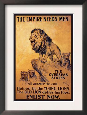 The Empire Needs Men Framed Art Print