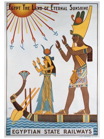 Egyptian State Railways Giclee Print
