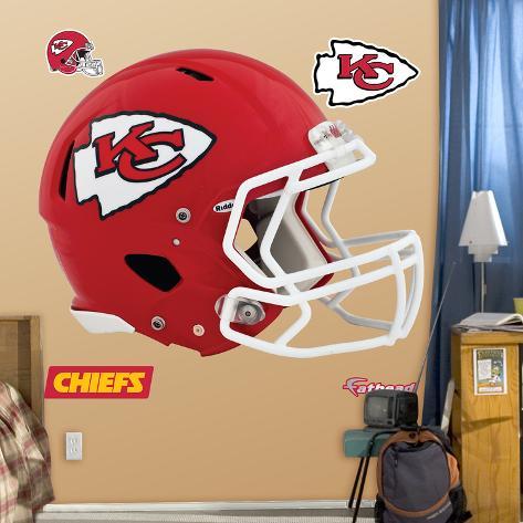 Kansas City Chiefs Revolution Helmet Wall Decal