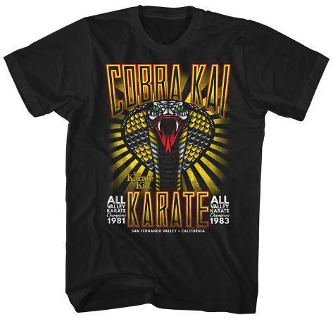 Karate Kid- Cobra Kia All Valley 81 & 83 T-Shirt