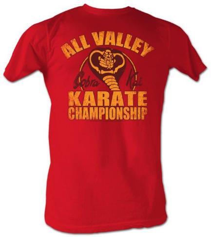 Karate kid new cobra kai t shirts su for Attack of the 50 foot woman t shirt