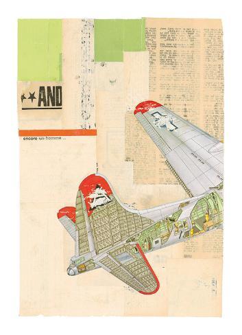 Model Plane 4 Stampa artistica