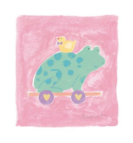 Frog Toy Art Print