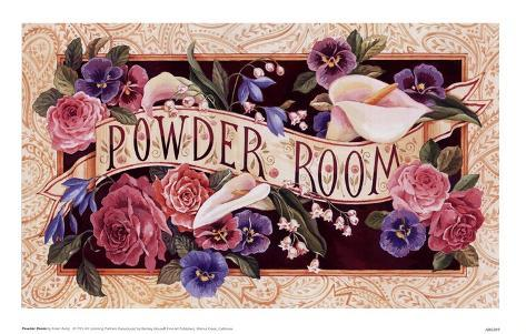 Powder Room Art Print